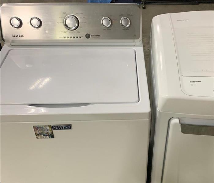 clean white washer